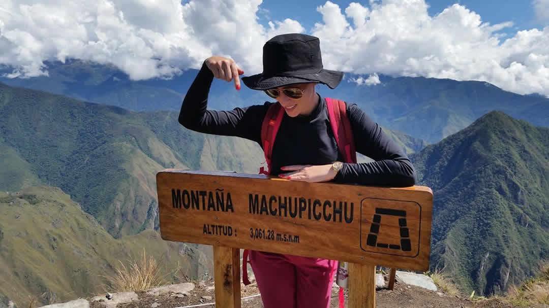 montaña y machu picchu