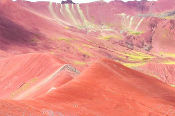 valle rojo peru