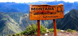 machupicchu with mountain Machu Picchu
